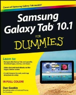 Samsung Galaxy Tab 10.1 for Dummies (Paperback)