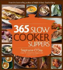 365 Slow Cooker Suppers (Paperback)