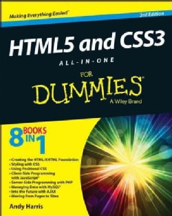 HTML5 and CSS3 All-in-one for Dummies (Paperback)