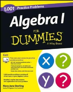 1,001 Algebra I Practice Problems for Dummies (Paperback)