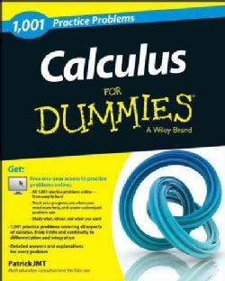 1,001 Calculus Practice Problems for Dummies