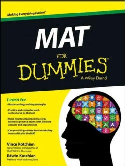 MAT for Dummies (Paperback)