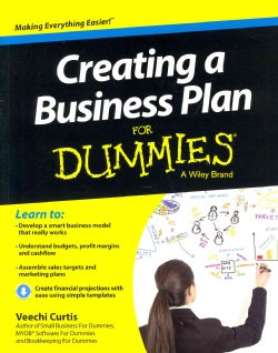 Creating a Business Plan for Dummies (Paperback)