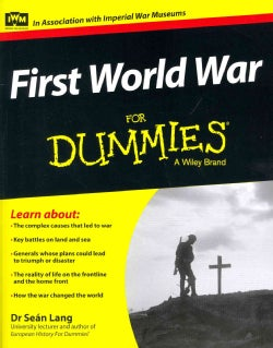 First World War for Dummies (Paperback)