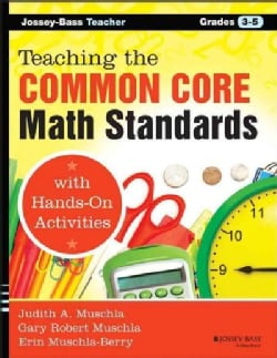 Teaching the Common Core Math Standards With Hands-on Activities, Grades 3-5 (Paperback)