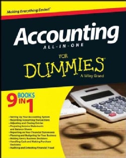 Accounting All-in-One for Dummies (Paperback)
