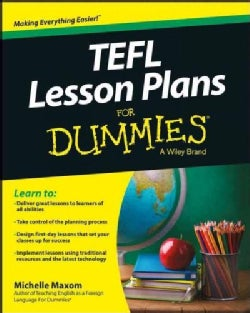 TEFL Lesson Plans for Dummies (Paperback)