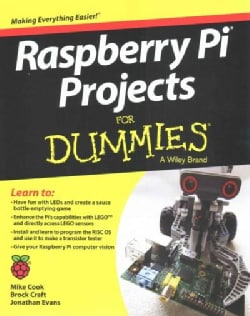 Raspberry Pi Projects for Dummies (Paperback)