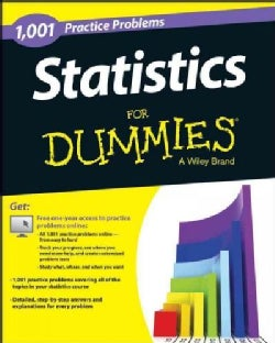 1,001 Statistics Practice Problems for Dummies
