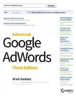 Advanced Google AdWords (Paperback)