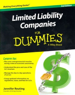 Limited Liability Companies for Dummies (Paperback)