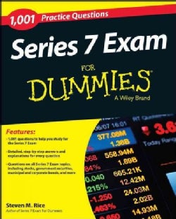 1,001 Series 7 Exam Practice Questions for Dummies (Paperback)