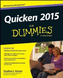 Quicken 2015 for Dummies (Paperback)
