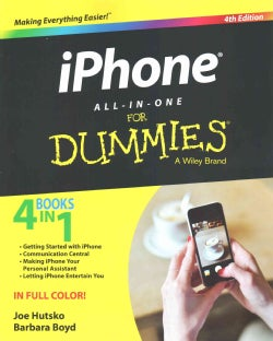 iPhone All-in-One for Dummies (Paperback)