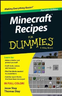 Minecraft Recipes for Dummies: Portable Edition (Paperback)