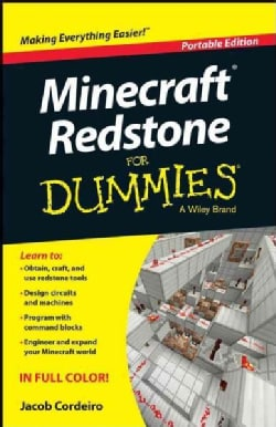 Minecraft Redstone for Dummies: Portable Edition (Paperback)