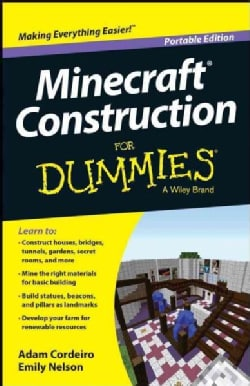 Minecraft Construction for Dummies: Portable Edition (Paperback)
