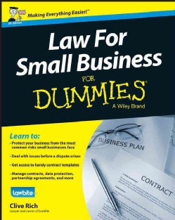 Law for Small Business for Dummies: Uk Edition (Paperback)
