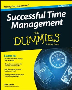 Successful Time Management for Dummies (Paperback)