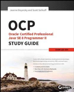 Oracle Certified Professional Java SE 8 Programmer II: Exam 1Z0-809 (Paperback)