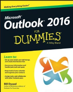 Outlook 2016 for Dummies (Paperback)