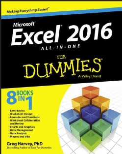 Microsoft Excel 2016: All-in-One for Dummies (Paperback)