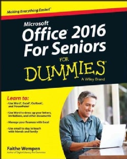 Office 2016 for Seniors for Dummies (Paperback)