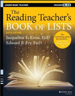 The Reading Teacher's Book of Lists: Grades K-12 (Paperback)