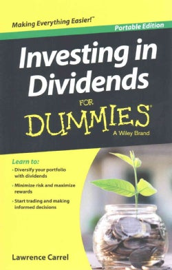 Investing in Dividends for Dummies (Paperback)