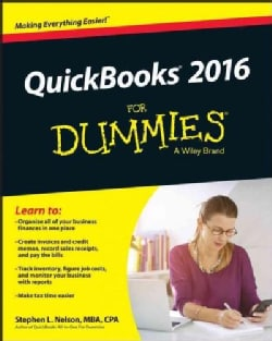 Quickbooks for Dummies 2016 (Paperback)