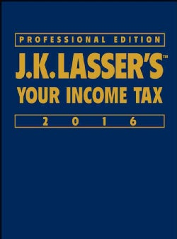 J.K. Lasser's Your Income Tax 2016 (Hardcover)