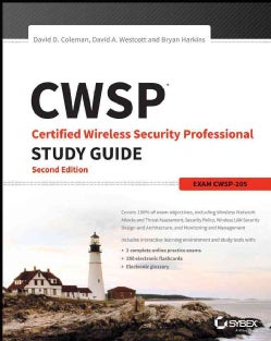 Cwsp: Certified Wireless Security Professional Study Guide Cwsp-205