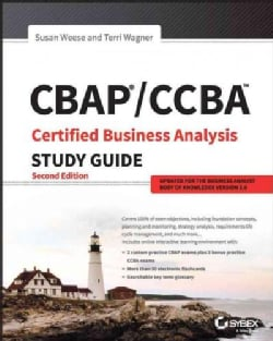 Cbap / Ccba Certified Business Analysis Study Guide (Paperback)