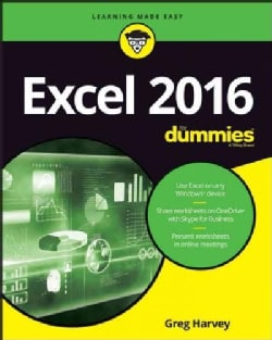 Excel 2016 for Dummies (Paperback)