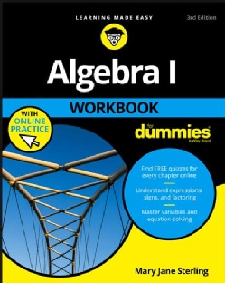 Algebra I Workbook for Dummies (Paperback)
