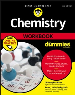 Chemistry Workbook for Dummies (Paperback)
