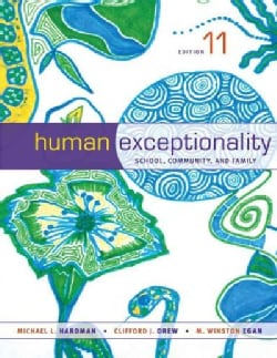 Human Exceptionality: School, Community, and Family (Hardcover)