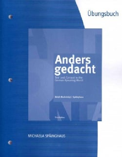 Anders gedacht: Text and Context in the German-speaking World (Paperback)