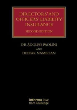 Directors' and Officers' Liability Insurance (Hardcover)