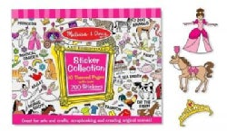 Sticker Collection - Pink (Paperback)