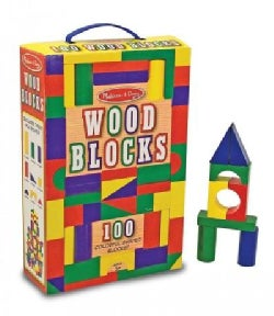 100 Wood Blocks Set (Toy)