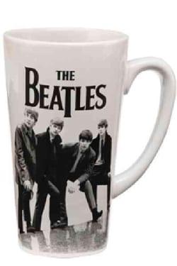 The Beatles Black & White 14 Oz. Ceramic Latte Mug (General merchandise)