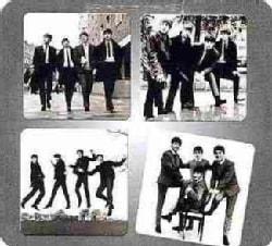The Beatles 4 PC. Glass Coasters Set (General merchandise)