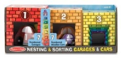 Nesting & Sorting Garages & Cars (Toy)