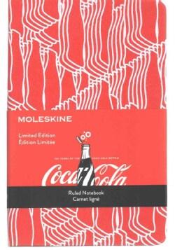 Moleskine Coca-Cola Notebook: Pocket, Ruled, Scarlet Red (Notebook / blank book)