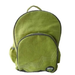 Onyx & Green Backpack Jute Cotton Blend Green (General merchandise)