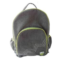 Onyx & Green Backpack Jute Cotton Blend Gray (General merchandise)
