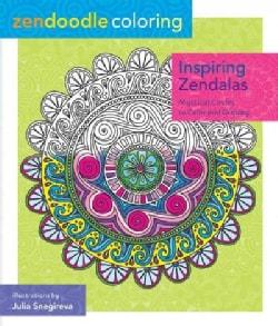 Inspiring Zendalas Adult Coloring Book: Mystical Circles to Color and Display (Paperback)