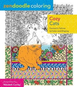 Cozy Cats: Fantastic Felines to Color and Display (Paperback)
