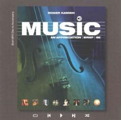 Music: An Appreciation (CD-Audio)
